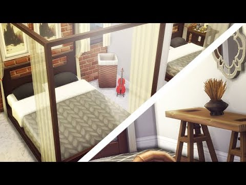 TINY MODERN CHIC APARTMENT (CLEM'S PLACE)  | THE SIMS 4 // APARTMENT BUILD