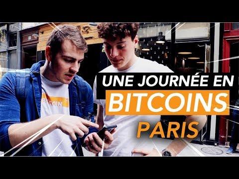 24H À PARIS QU'AVEC DES BITCOINS   Feat. Léonard