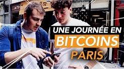 24H À PARIS QU'AVEC DES BITCOINS | Feat. Léonard