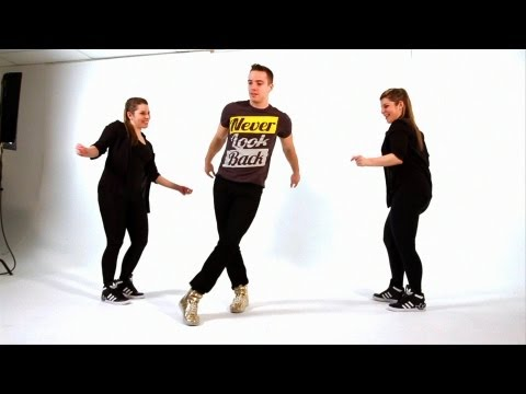 How to Dance Inside a Circle | Beginner Dancing