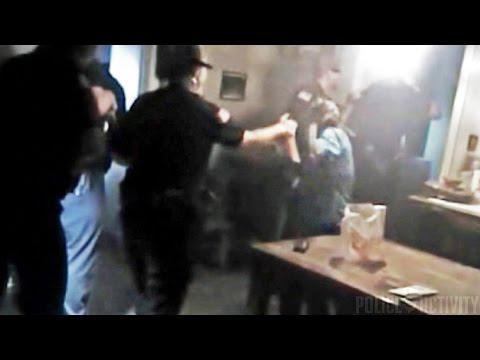 Bodycam Shows Female Cop Pepper Spraying 84-Year-Old Woman