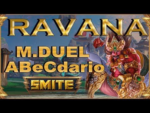 SMITE! Ravana, Y yo pensaba que esto era de early...! Master Duel Abecedario #64