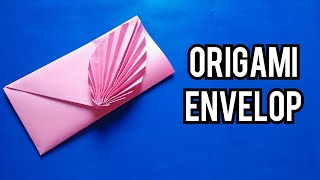 Envelop making with paper(without glue scissor and tape)/Origami envelop/Paper crafts/crafts