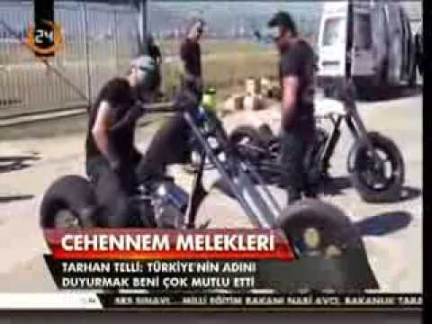 EXPENDABLES 3 Interview with Custom Motorcycle Builder Tarhan Telli about the Bikes in the movie