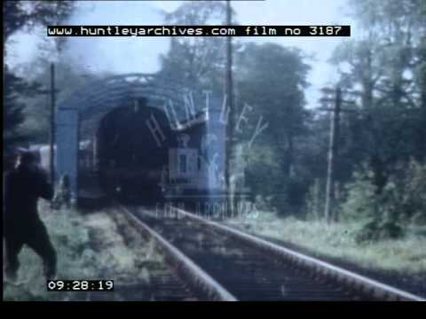 Steam railways in Northern Ireland, 1960's - Film 3187