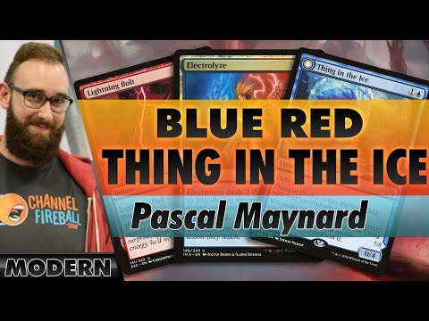 Blue-Red Thing in the Ice - Modern | Channel Pascal