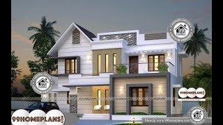 Indian House Design By 99HOMEPLANS COM [ Esp: M013 ]
