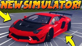 THIS NEW RACING SIMULATOR IS SO FUN! (Roblox Sports Car Simulator 3)