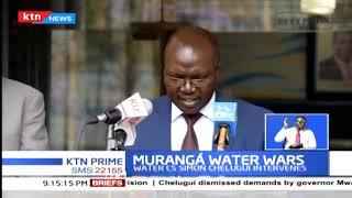 CS Simon Chelugui faults Governor Mwangi Wa Iria over what he called interference