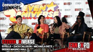 Steven Universe Cast: Estelle, Zach, Michaela, Deedee - Fan Expo Canada 2018 thumbnail