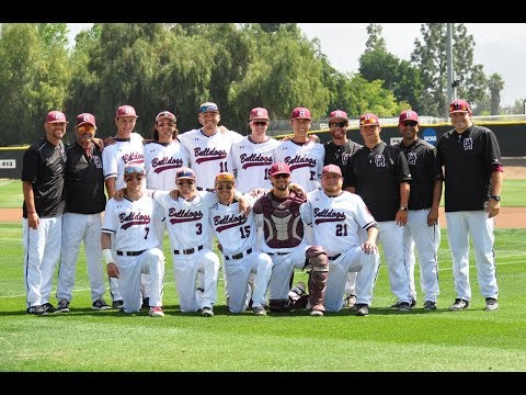 2018 University of Redlands Bulldog Baseball Highlights