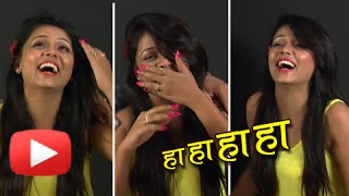 Prarthana Behere's Funny Laughter (Video) - Epic Hilarious - MUST WATCH - Swapnil Joshi