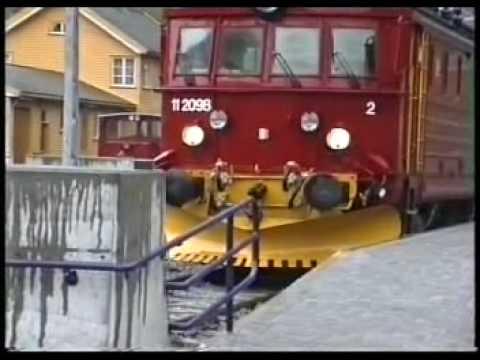Flåm (Norvegia) - Flåmsbana 1993