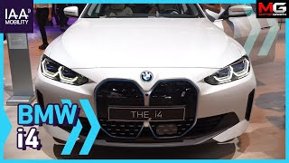 "BMW의 신상 쿠페 i4 등장 ""디자인은 다 적응했지? 이제 전기차에 적응할 차례야"""