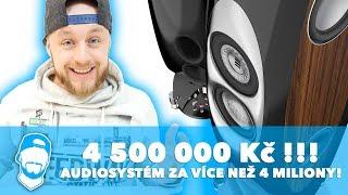 🤯 AUDIOSYSTÉM ZA VÍCE NEŽ 4 MILIONY KORUN! Nejlepší stereo systémy ELAC, Estelon nebo Sonus Faber!