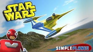 STAR WARS STAR DESTROYER, NABOO STARFIGHTER & MORE! - Simple Planes Gameplay - EP 4