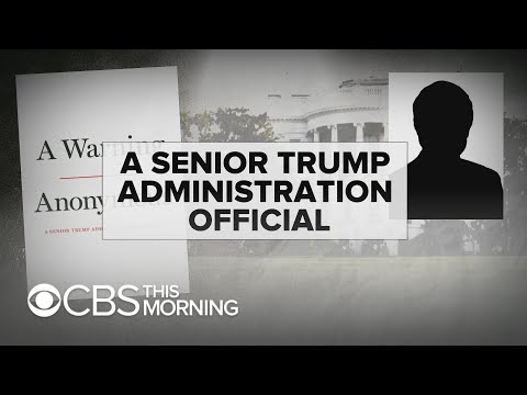 New Book Describes President Trump As A 'complete Amateur'