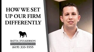 Batta Fulkerson: How and Why We Set up Our Personal Injury Firm Differently