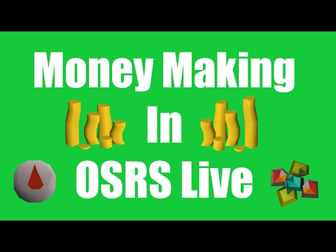 [OSRS] How Much Money Can I Make On Stream! - Oldschool Runescape Flipping And Money Making Guide
