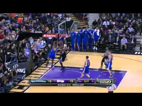 Barnes to the Bucket | Golden State Warriors Vs Sacramento Kings | 11/05/2012 | NBA Season 2012-13