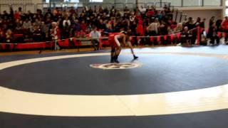 2015 Junior National Championships: 55 kg Darthe Capellan vs. Bradley MacPherson