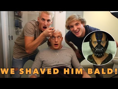 Thumbnail: SHAVED HIS HEAD FOR HIS EPIC HALLOWEEN COSTUME!