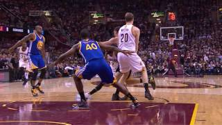 Timofey Mozgov vs GSW. Final, Game 3. 09.06.2016