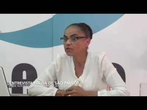 Entrevista de Marina Silva (REDE - AC) ao jornal Folha de São Paulo