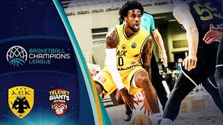 AEK v Telenet Giants Antwerp - Full Game - Basketball Champions League 2019-20