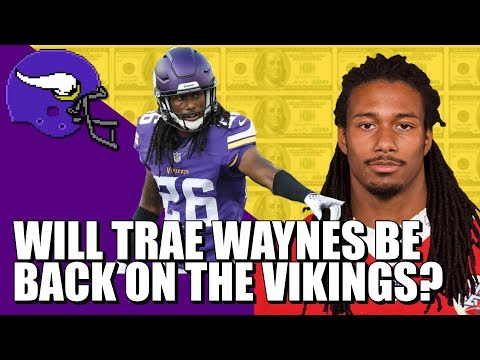 Will Trae Waynes Be Back On The Vikings? 🤔🤔🤔