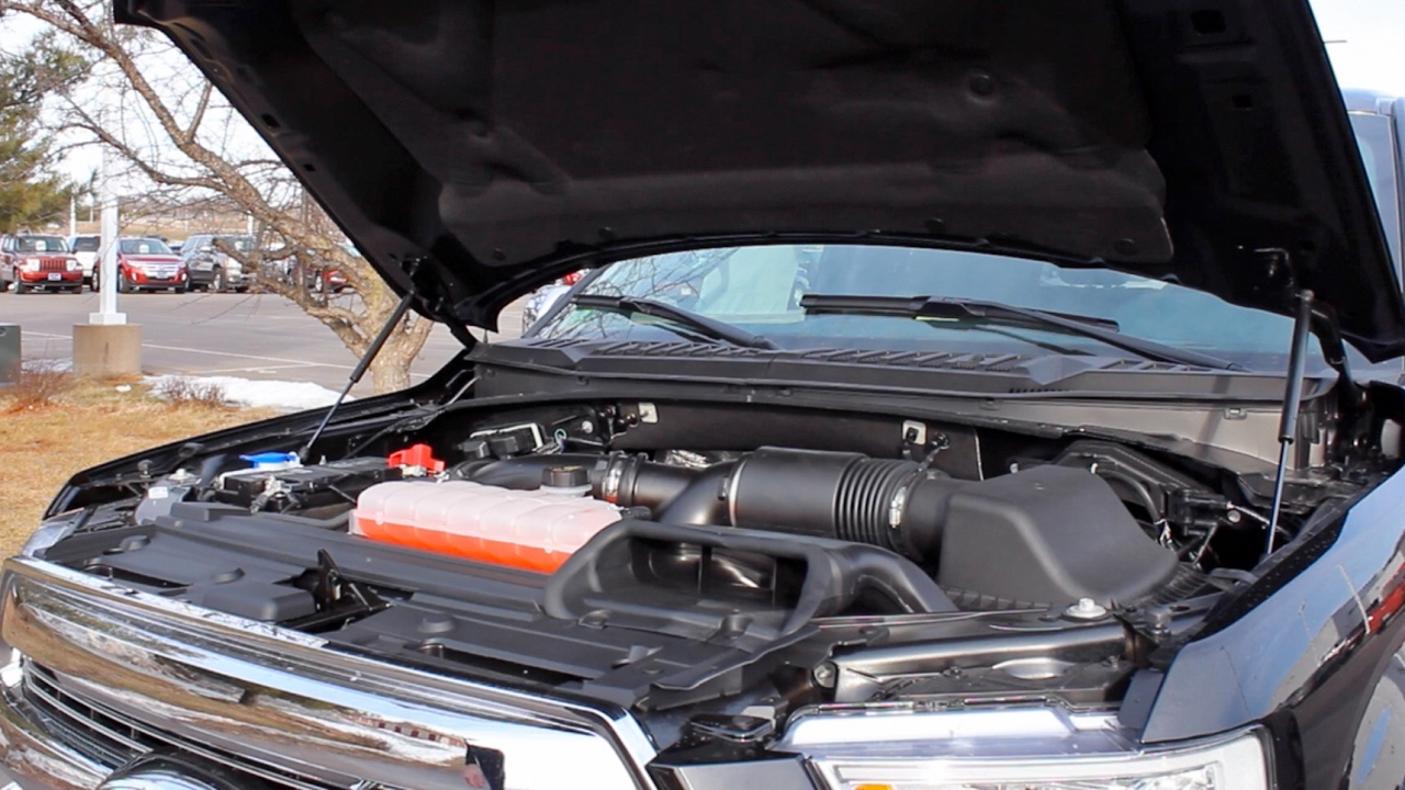 How To Open The Hood On A 2017 Ford F 150 Youtube 1970 4x4