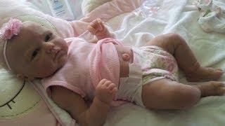 Romie Strydom Full Body Silicone Baby Doll Box Opening Dec 2013 (2)