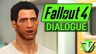 FALLOUT 4: Character DIALOGUE System Overview! (Voiced Protagonist in Fallout 4)