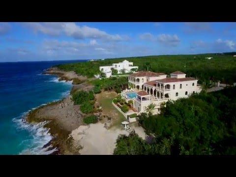 Sandcastle Villa Anguilla Drone Video