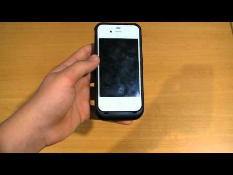 Review - 3,000 MAh Portable Battery Case For The IPhone 4 And 4S By Mugen Power Batteries!