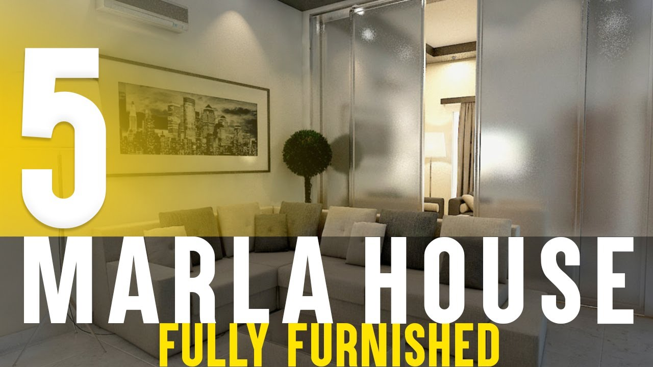 Complete Project Of 5 Marla House Youtube