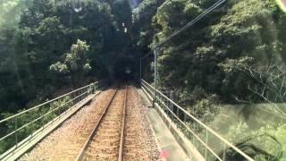 【前面展望】阿佐海岸鉄道 海部ー甲浦