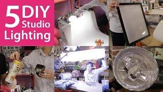 5 DIY Lighting Setups You Can Try at Home