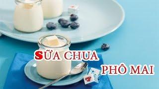 Cách Làm SỮA CHUA PHÔ MAI Ngon Dẻo Sánh Mịn Cho Bé   nhu the nao