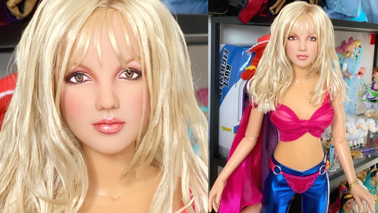 Britney Spears Ooak Doll Made By Cyguy83 Quick Look Youtube