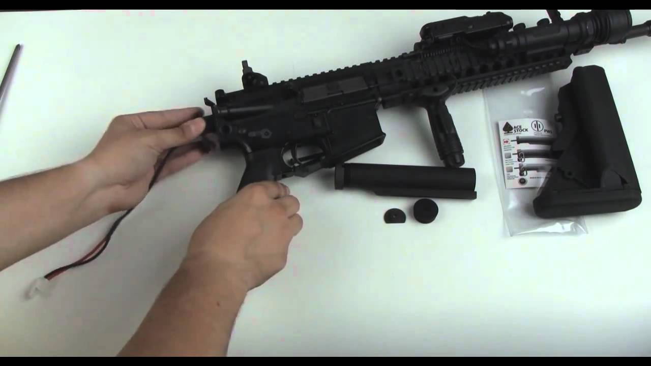 PeopleAirsoft com - Mad Bull Ace Lipo Buffer Tube In-Depth Review