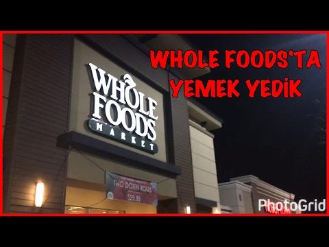 WHOLE FOODS (FLORİDA VLOG#4)