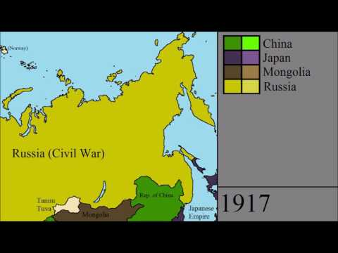 The History Of Northeast Asia 1700 - 2017: Every Year