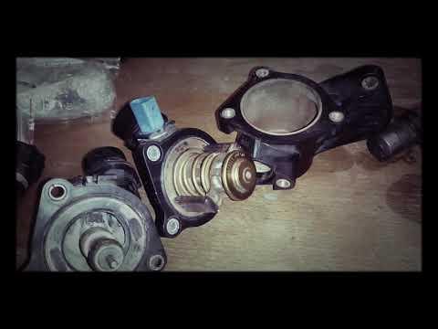 Замена термостата Audi a4 b6 (часть 1)