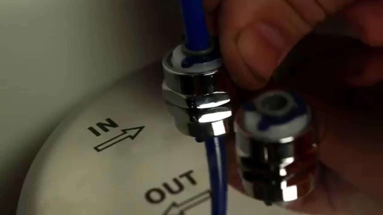 Инструкция по установке фильтра аквафор