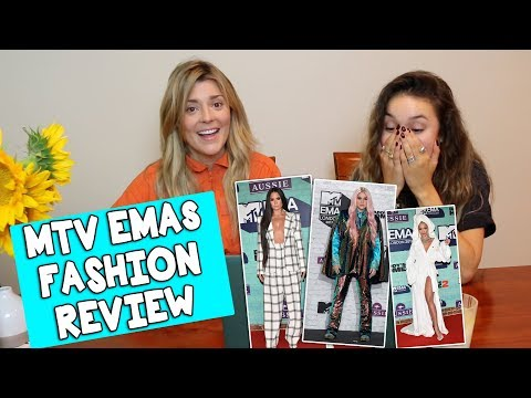 Download Youtube: MTV EMAs FASHION REVIEW w/KRISTEN MCATEE // Grace Helbig