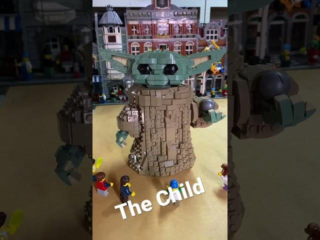 Lego The Child in the Lego City #shorts