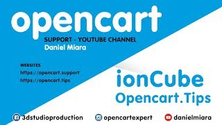 How to install ionCube loader - Opencart