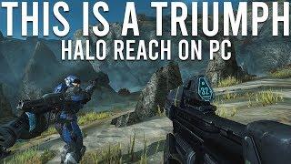 Halo Reach on PC is a triumph