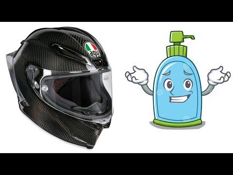 How to Clean a Motorcycle Helmet